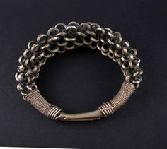 Tribal bracelet from the Miao tribes, SE Asia | ethnicadornment