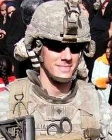 Army Sgt. Eric E. Williams, 27, of Murrieta, California. Died July 23, 2012, serving during Operation Enduring Freedom. Assigned to 3rd Battalion, 82nd Combat Aviation Brigade, 82nd Airborne Division, Fort Bragg, North Carolina. Died in Pul-E Alam, Logar Province, Afghanistan, from injuries sustained when the forward operating base came under enemy fire. Sgt. Williams was in-transit from his duty station in Ghazni Province to re-deploy to the United States when he was killed.