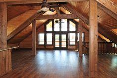 Small Barn Loft Apartments   Found on barnpros.com