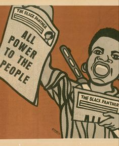Emory Douglas, Famous Art Pieces, Black Panther Party, Powerful Art, Culture, 1980s, Artist, Fictional Characters, Magazine