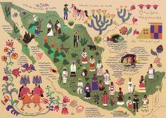 Trajes Tradicionales mexicanos.