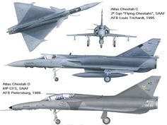 AVIÕES MILITARES: Atlas Cheetah Military Humor, Military History, Fighter Aircraft, Fighter Jets, Iai Kfir, Air Force Day, South African Air Force, Delta Wing, Airplane Design