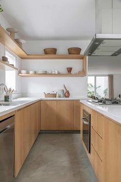 Kitchen Room Design, Small Space Kitchen, Modern Kitchen Design, Home Decor Kitchen, Interior Design Kitchen, New Kitchen, Inside Home, Condo Interior, Küchen Design