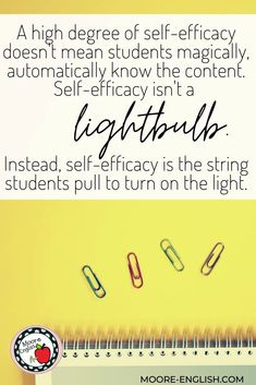 Self-efficacy will help students in all the areas of academic achievement. Students with higher degrees of self-efficacy are better equipped to handle and respond to trauma and their social-emotional needs. A higher degree of self-efficacy positions students to meet and exceed the benchmarks in state standards and learning targets. Finally, a higher degree of self-efficacy prepares students to climb up Maslow's hierarchy and up Bloom's taxonomy.