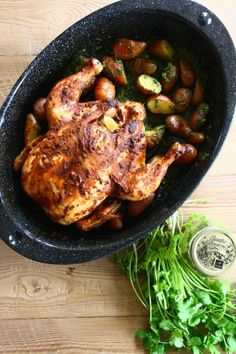 Latin Spice Roast Chicken with Spanish Paprika & Fresh Lime by Mary Anne & Mariel | Epicurious Community Table