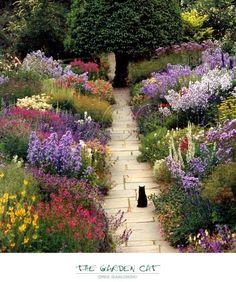 The Garden Cat  Bueno, este no sé si necesita de poca agua, pero es muy chulo