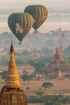 Photograph Balloon over Bagan - Myanmar - by sebastienlebris on 500px