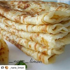 KATMER 2 su bardagi ilik sut 1 su bardagi ilik su 1 kilo un… Turkish Snacks, Turkish Recipes, Healthy Dinner Recipes, Snack Recipes, Cooking Recipes, Chapati Recipes, Trinidad Recipes, Good Food, Yummy Food