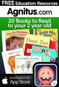 Great kickstarter for Preschool Learning: 20 books to read to your two year old - free PDF checklist on Agnitus.com