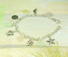 Eco Friendly Sterling Silver Pastel GENUINE by seaglassgems4you, $65.00