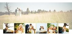 Book Templates :: Wedding :: **NEW** Bliss - Photoshop Photo Book and Album Design Templates | Red Boot Design