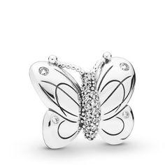 Beads Unlimited 16/x 12/mm Breloque Papillon en m/étal Bijoux Lot de 30 Argent Antique