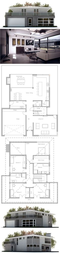 House Plan - a few modifications and this would be great!