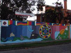 En el marco del Festival de Arte y estéticas urbanas Manizales Biocultural, realizamos este mural en homenaje a la Jornada de Identidad Montañera que busca rescatar los saberes y formas de habitar de los montaneros Andinos.