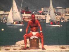 People on the beach in Pesaro - Gente sulla spiaggia di Pesaro - 1980