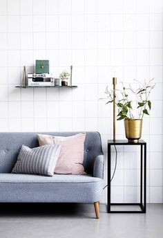 Some great inspirations of cool Scandinavian minimalism. Simple decoration with maximum impact. Credits to House Doctor www.luumodesign.com