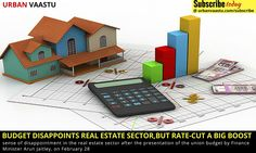 Budget Disappoints #Real #Estate Sector, But Rate-Cut a Big Boost @ http://bit.ly/1Uk564z