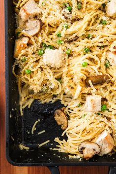 tetrazzini is the easy weeknight dinner the whole family will love. Get the recipe from .Turkey tetrazzini is the easy weeknight dinner the whole family will love. Get the recipe from . School Dinner Recipes, Easy Cheap Dinner Recipes, Cheap Easy Meals, Cheap Dinners, Cheap Recipes, Inexpensive Dinner Ideas, School Menu, Winter Dinner Recipes, Budget Recipes