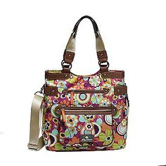 Lily Bloom Mod Fl Satchel Made From 100 Recycled Plastic Bottles Earthybliss Pinterest
