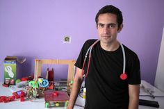 Doctor In Gaza Invents 3D-Printable, Cost-Effective Stethoscope