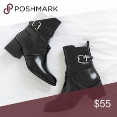 Black Ankle Booties Brand new. UK 5 / US 7 Shoes