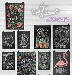 mood swings Get your own chalkboards for the Sims Maxis, Mods Sims, Sims 4 Kitchen, Kitchen Tips, Muebles Sims 4 Cc, Sims 4 Bedroom, Diy Bedroom, Sims 4 Clutter, Casas The Sims 4