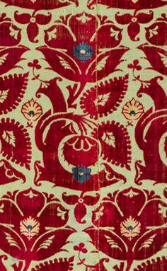 ABEGG-STIFTUNG 15th century Italian silk