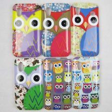 Cute OWL Pattern Hard Back Case Cover Skin For SAMSUNG S5830 GALAXY ACE  1,99, mikä vaan kävis! <3