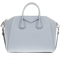Pre-owned Givenchy Satchel ($1,615) ❤ liked on Polyvore featuring bags, handbags, givenchy, purses, sac, satchels, apparel & accessories, wallets & cases, satchel handbags and leather tote bags