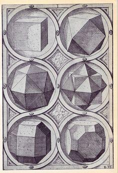 Terra - Perspectiva Corporum Regularium - Wenzel Jamnitzer 1568 | Flickr – Condivisione di foto!