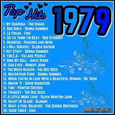 I was 9 years old. This is the year my mom died- I was 9 years old. This is the year my mom died I was 9 years old. This is the year my mom died - Music Hits, 70s Music, Music Songs, Disco Party, Nostalgia, Mom Died, The Knack, We Will Rock You, Pop Rock