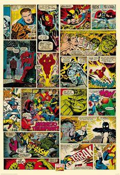 Marvel Comic Strip Wall Mural                                                                                                                                                                                 More