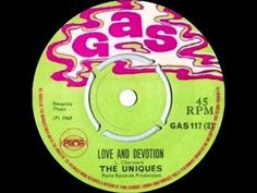 THE UNIQUES - LOVE AND DEVOTION - YouTube