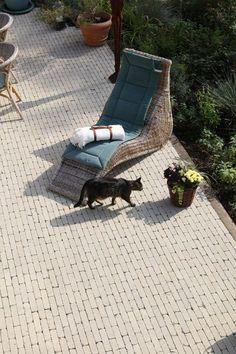 Terrasse mit MAURINO von braun-steine: perfekt für ein paar entspannte Stunden daheim