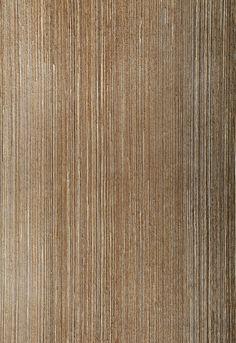 Wallcovering / Wallpaper | Metallic Strie in Sable | Schumacher