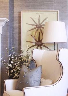 La Maison Gray - Interiors/ love the art!