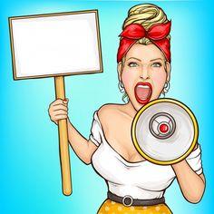 Pop Art Women, Pop Art Wallpaper, Pop Art Girl, Nail Designer, Pop Art Illustration, Poster S, Female Art, Comic Art, Woman