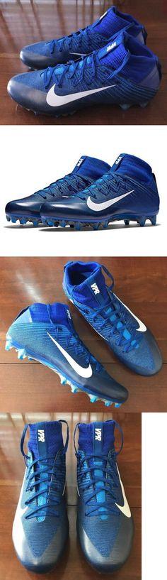 Men 159116: Nike Vapor Untouchable 2 Mens Football Cleats Size 14 Blue White  New 824470