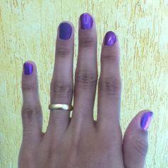 Colorama Roxo metalico e Risque Fosco Topazio purpura.