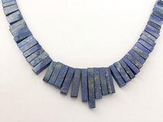 Lapis Lazuli Beads Lapis Lazuli Fancy Sticks by gemsforjewels