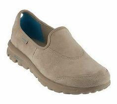 Skechers GOwalk Suede Slip-On Shoes