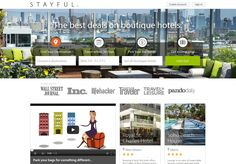 Boutique, independent hotels may be better bet than resorts - Launch of stayful.com - Watch report on HOTELIER TV: http://www.hoteliertv.net/international/boutique-independent-hotels-may-be-better-bet-than-resorts