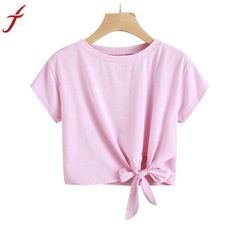 4a1ed2065ca07 Fashion Candy Colors Women Loose Casual Short Sleeve Solid shirt