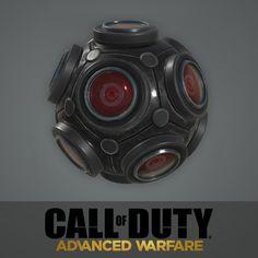 Advanced Warfare: Grenade, Ethan Hiley on ArtStation at https://www.artstation.com/artwork/advanced-warfare-grenade