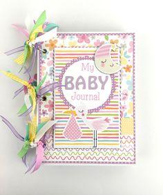 Kit de Mini álbum bebé chica Scrapbook diario o por ArtsyAlbums