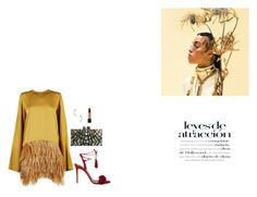 """""""golden battle scars"""" by sodanceinthedark ❤ liked on Polyvore featuring Sofie D'hoore, Aquazzura, Valentino, Lancôme, women's clothing, women's fashion, women, female, woman and misses"""