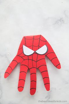 Superhero Craft - Superhero Handprints Superhero Craft - SpiderMan card for Father's Day.The Best Ideas for Kids Superhero Craft - Superhero Handprints Superhero Craft - SpiderMan card for Father's Day.The Best Ideas for Kids Popsicle Stick Crafts For Kids, Craft Kits For Kids, Crafts For Boys, Fathers Day Crafts, Craft Stick Crafts, Fun Crafts, Arts And Crafts, Easy Toddler Crafts, Daycare Crafts
