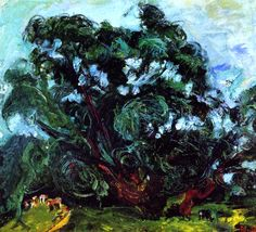 Chaim Soutine. 'The Tree'. Oil on canvas. 1939.