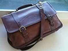 GHURKA 95 Marley HodgsonLeather Briefcase Satchel Bag