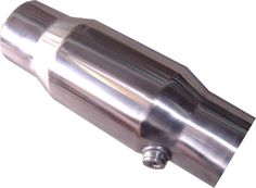 "Stainless Steel Catalytic Converters, available in 2.5"" and 3"" with 100 cell or 200 cell core."